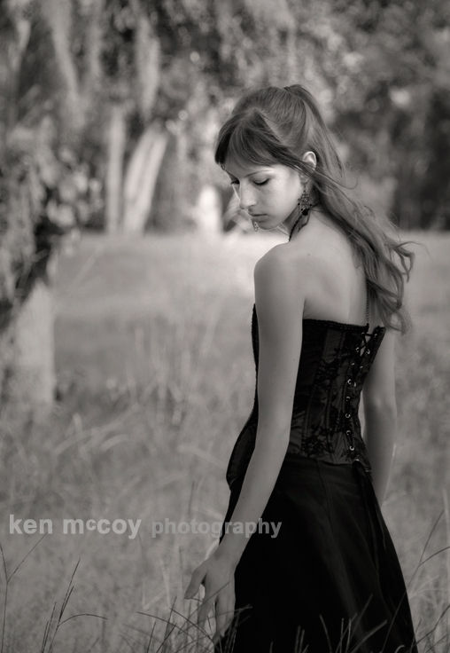 Amber in the tall grass 2
