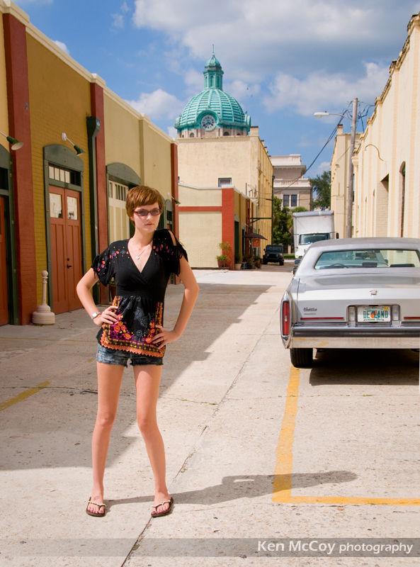 Kara in Artisan Alley 2