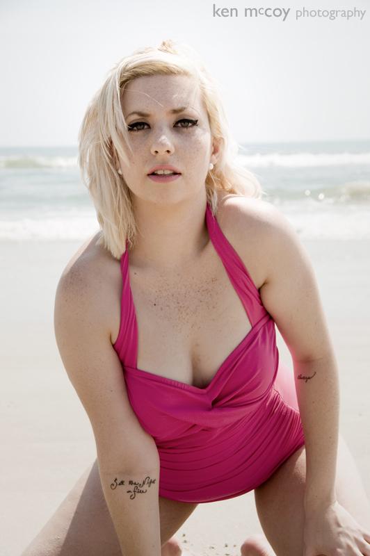 Sally on the Beach 3