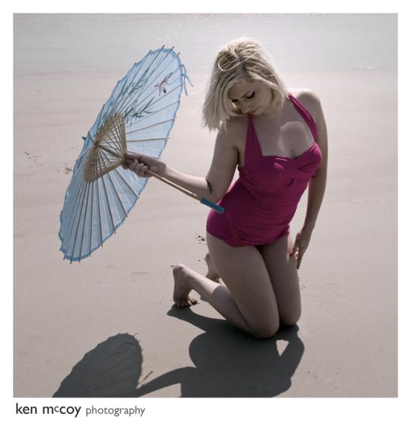 Sally on the Beach 4