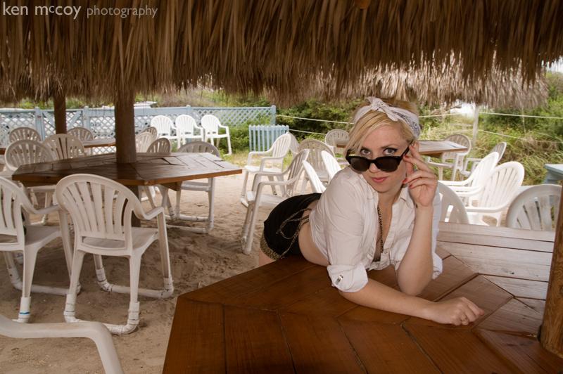 Sally on the Beach 10