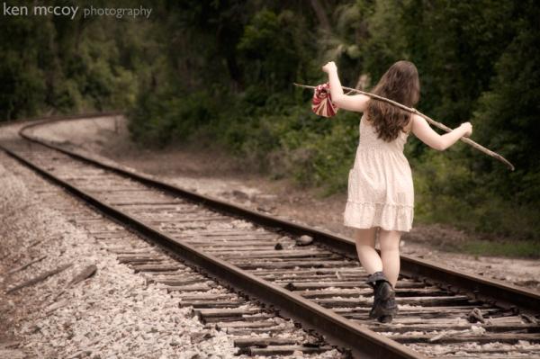 Vanessa on the Tracks 1