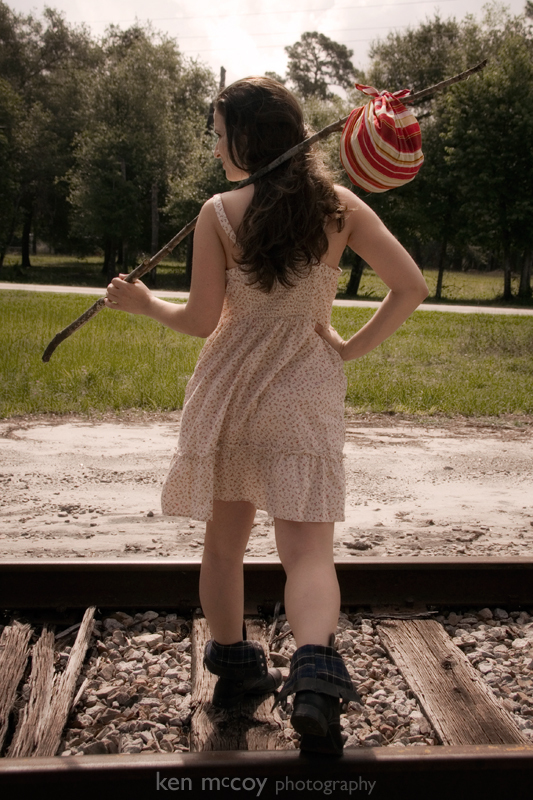 Vanessa on the Tracks 2