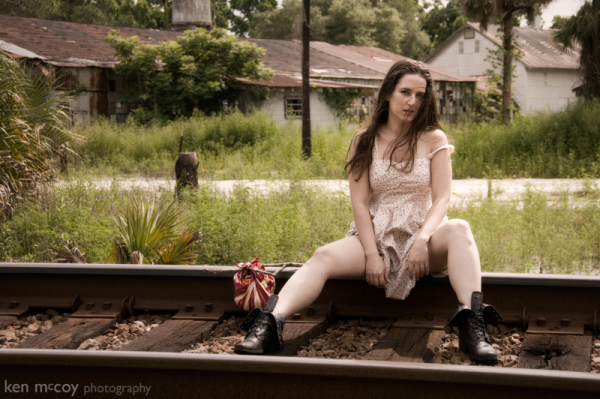 Vanessa on the Tracks 3