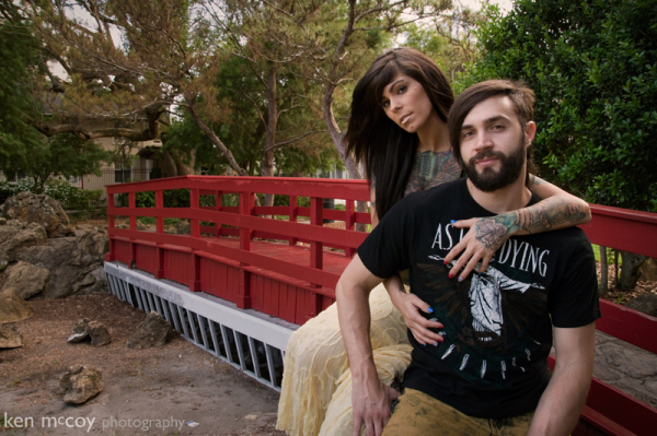 Shauna & Nick in the Park 1