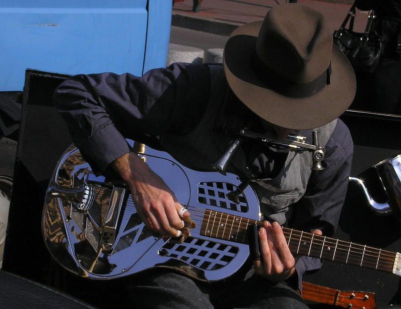 Blues man #1