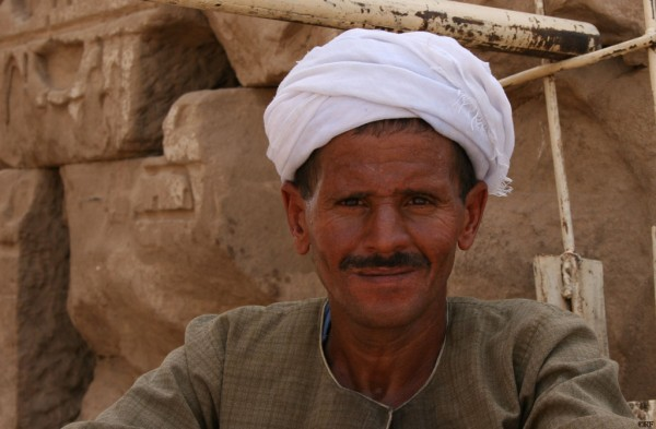 A face from the south of Egypt