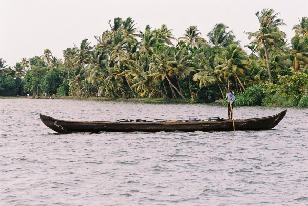 Calm Way of Life in the backwaters of Kerala