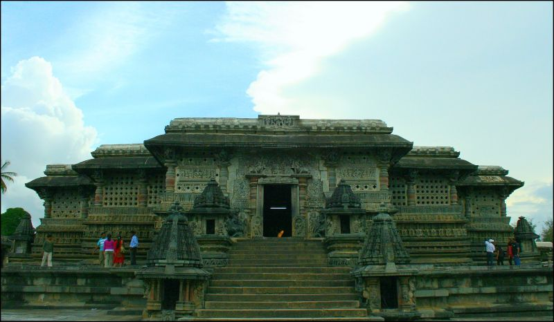 The Belur Temple, near Hassan, India