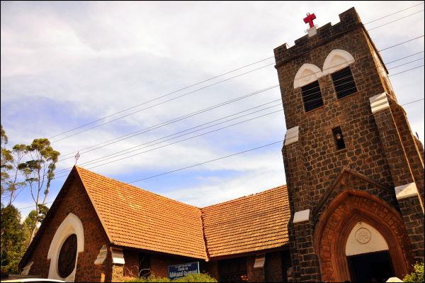 A church in Kodaikannal