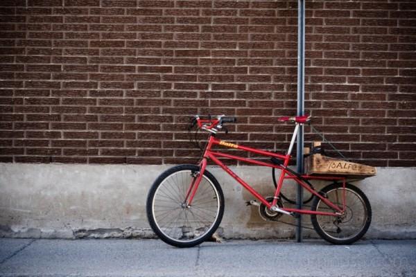 strange bicycle