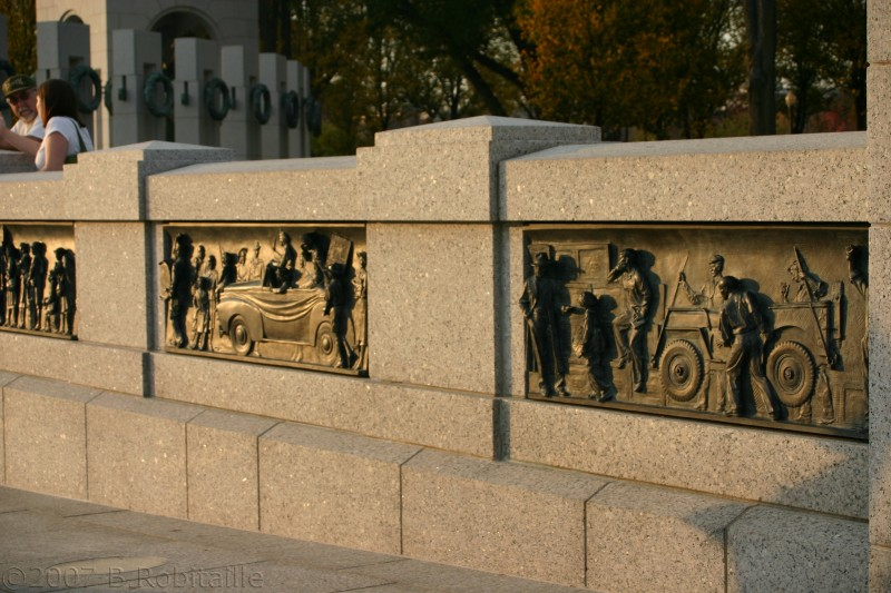 National WWII Memorial, Wasington D.C.