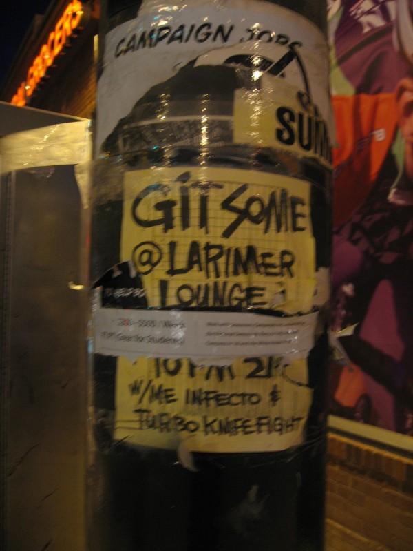 Git Some @ Larimer Lounge