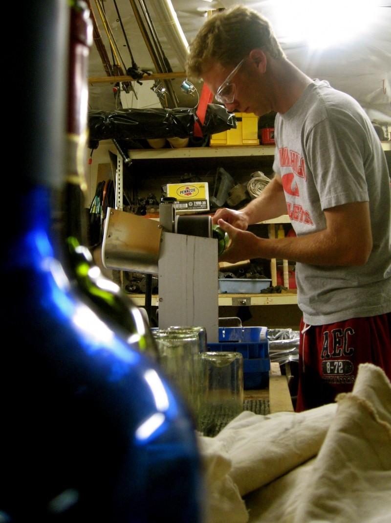 Wine Punts In Progress