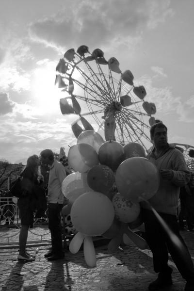 1st of may fair in felvonulási tér