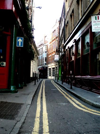 london narrows