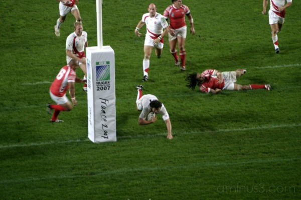 The Rugby World Cup 2007