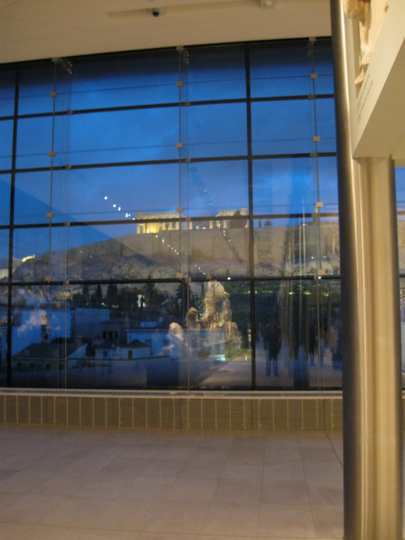 the new ACROPOLIS museum 1
