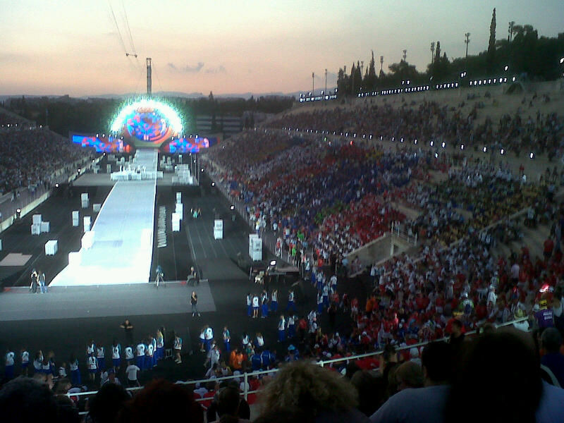 Closing Ceremony Special Olympics 2011.8