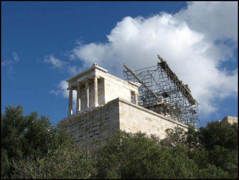 an Acropolis corner