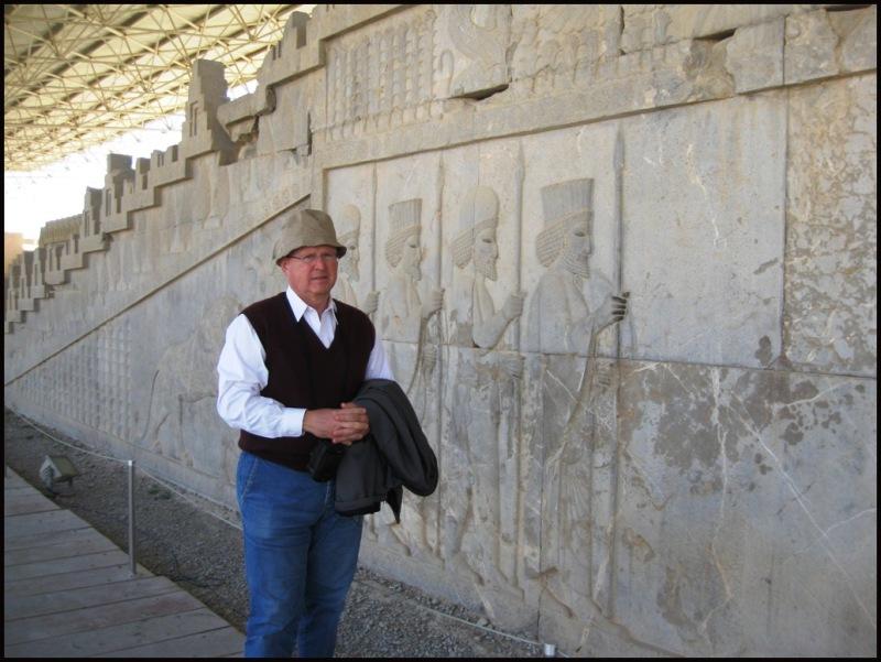 Persepolis admirer