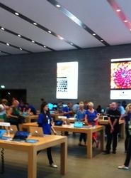 an apple in Berlin?