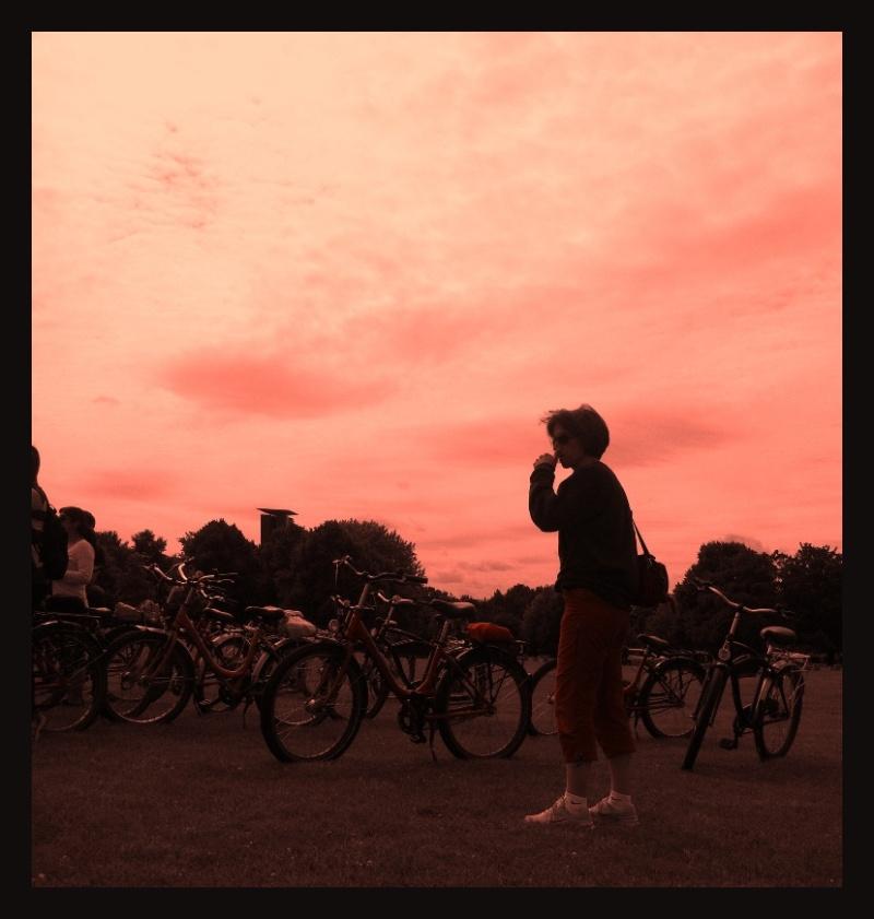 sky painting in Berlin