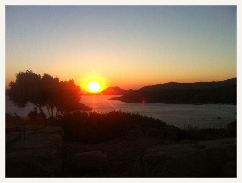 Sounion sunset 2