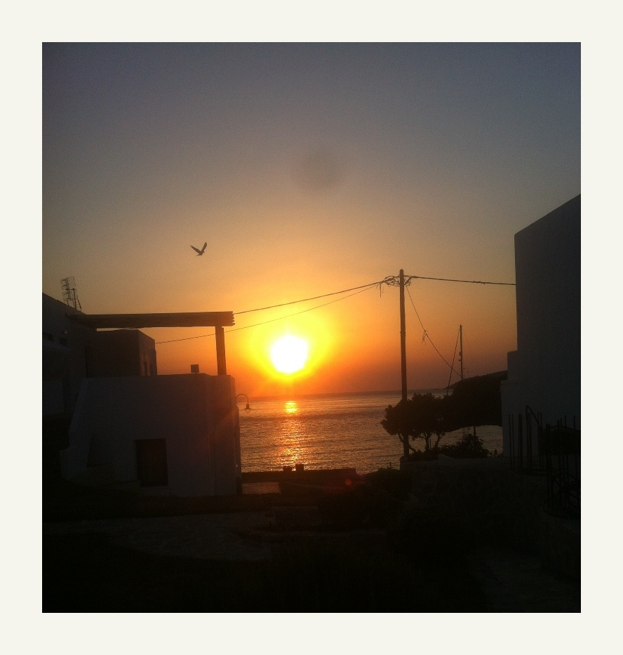 Tilos sunrise