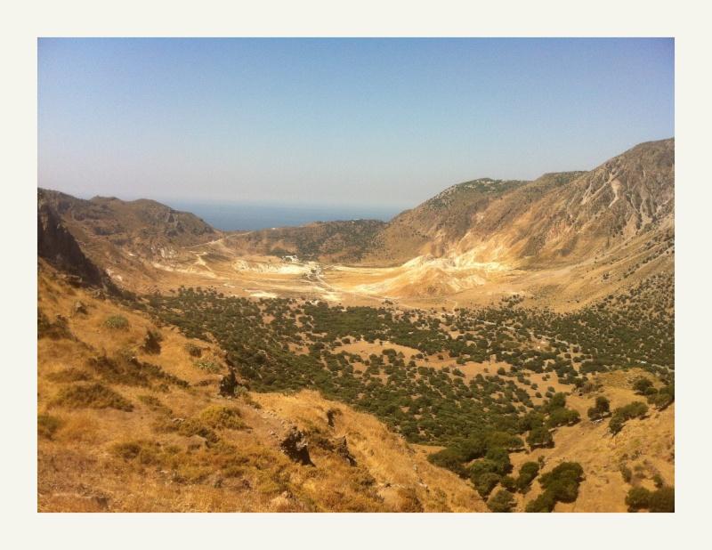 the Nissyros caldera