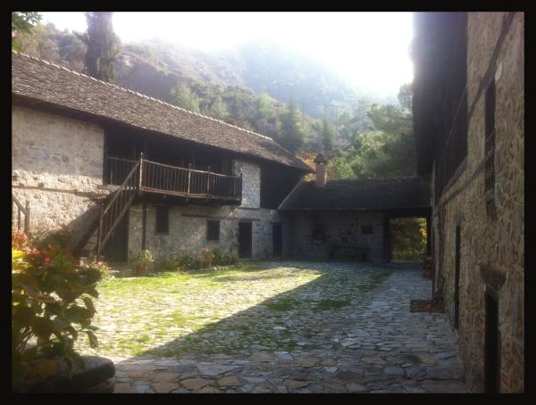 monastic courtyard