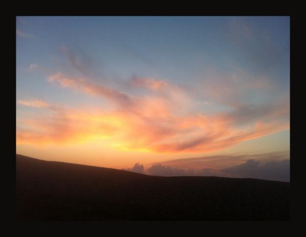 evening colours