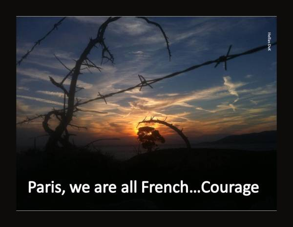 Paris-Courage