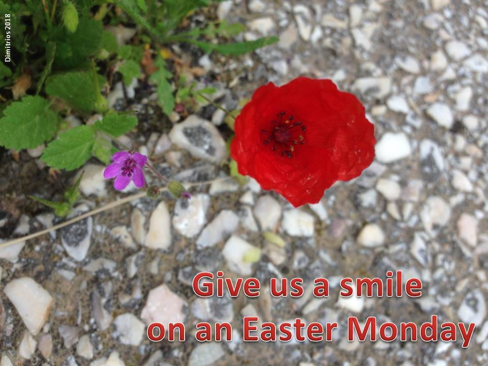 Easter Monday 2018