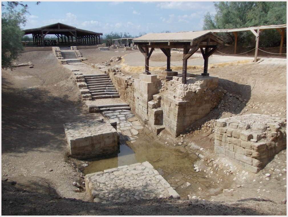 the place where Jesus was baptized