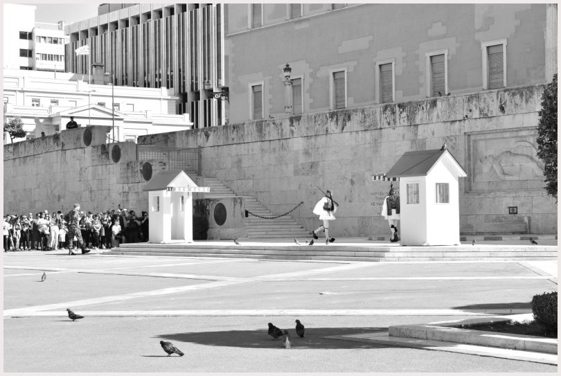 Athens in B&W: 2