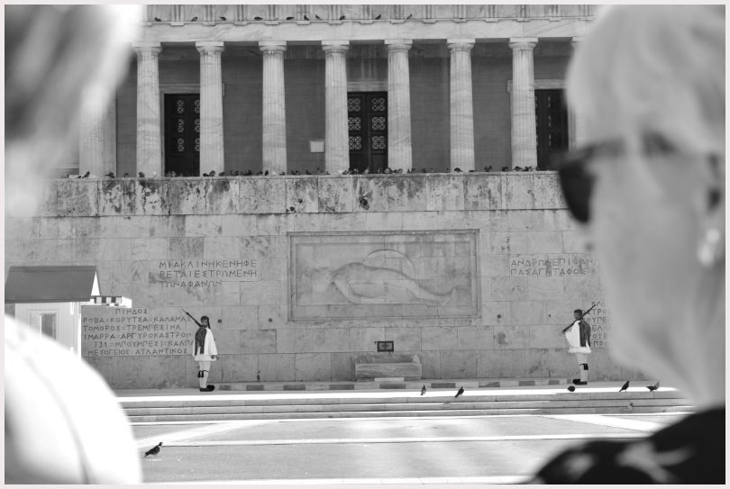 Athens in B&W: 3