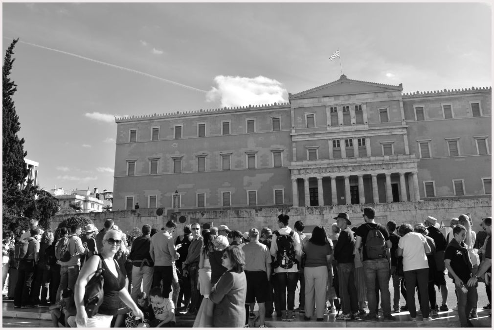 Athens in B&W: 6
