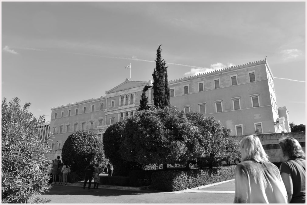 Athens in B&W: 7