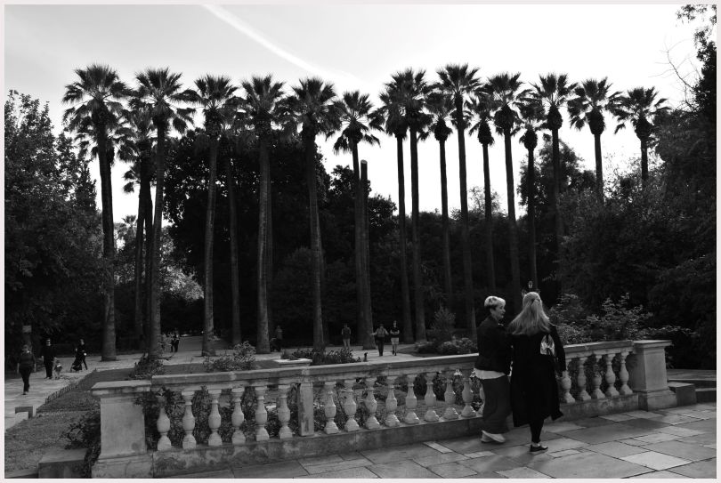 Athens in B&W: 8