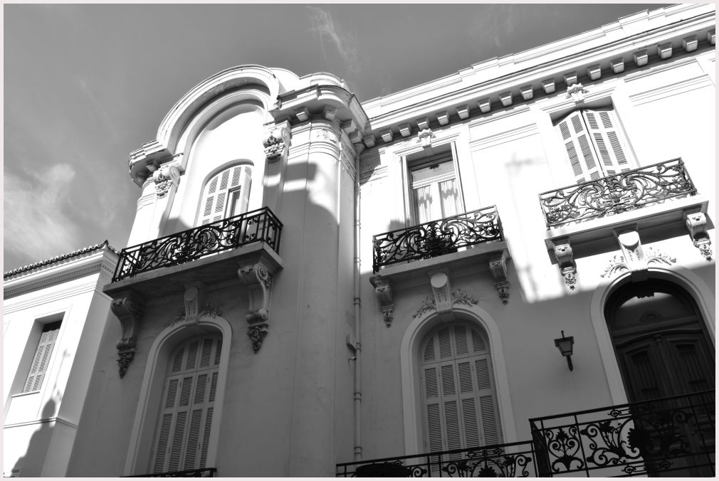 Athens in B&W: 22