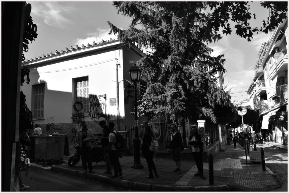 Athens in B&W: 23
