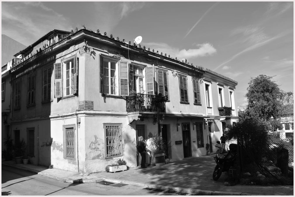 Athens in B&W: 29