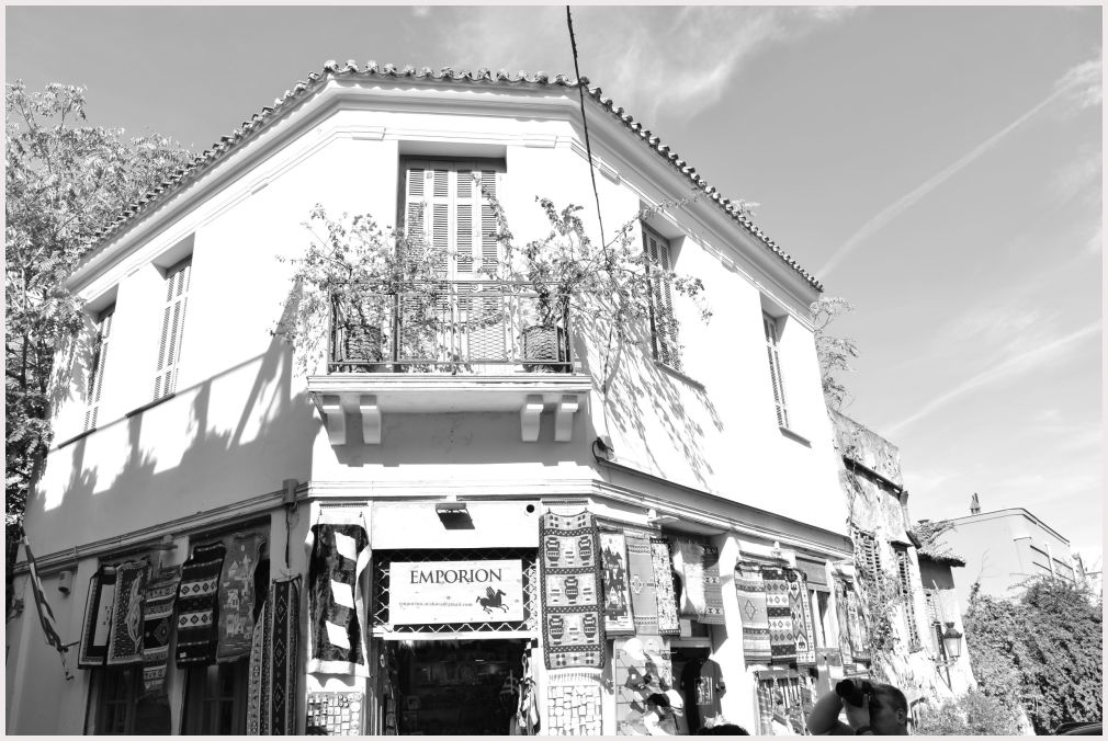 Athens in B&W: 30
