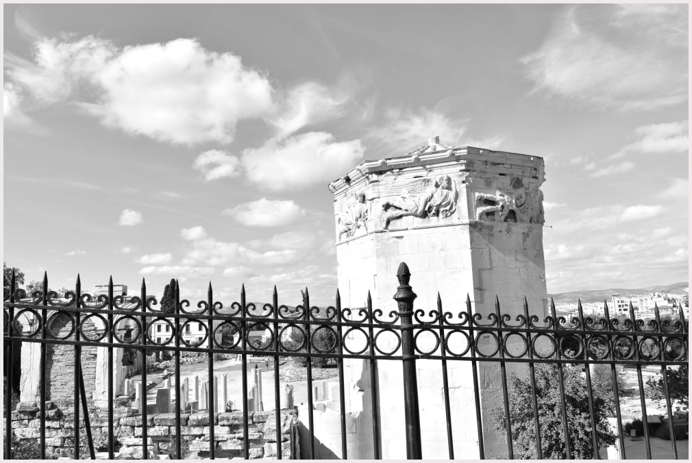Athens in B&W: 31
