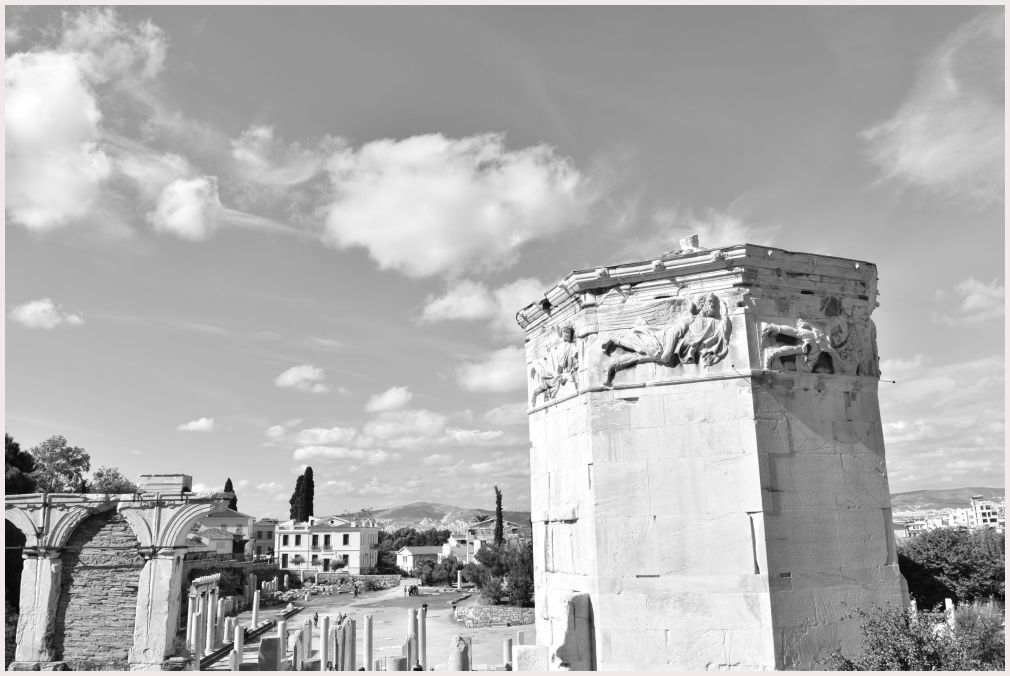 Athens in B&W: 33