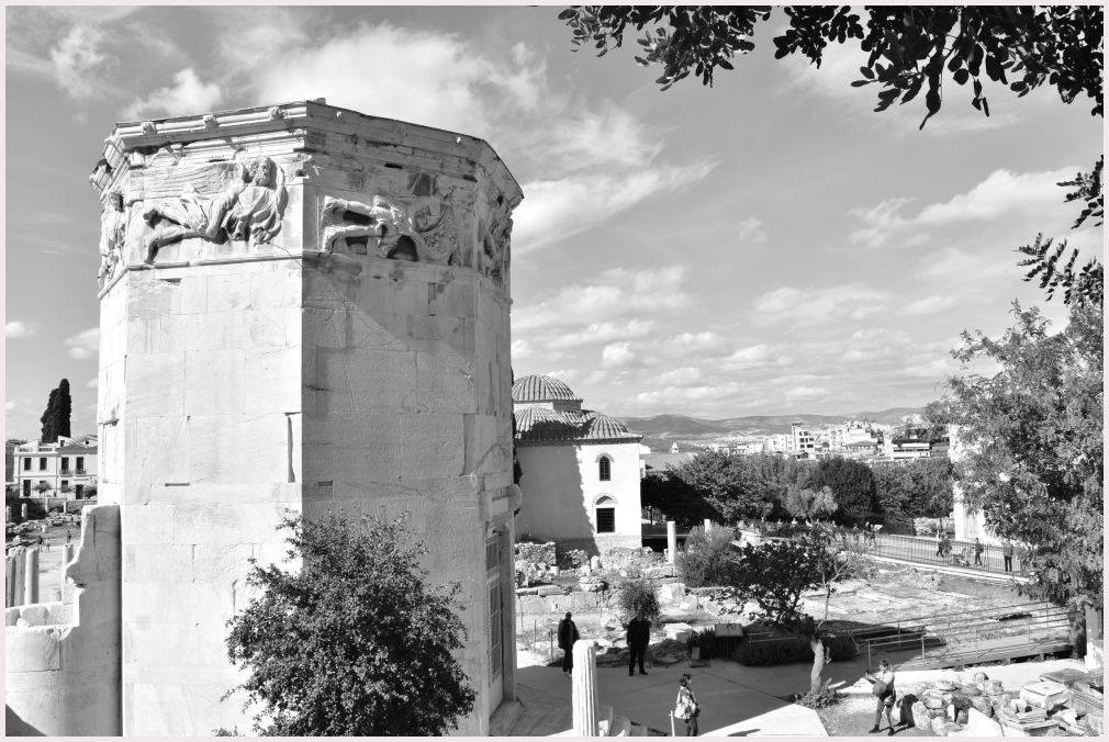 Athens in B&W: 34