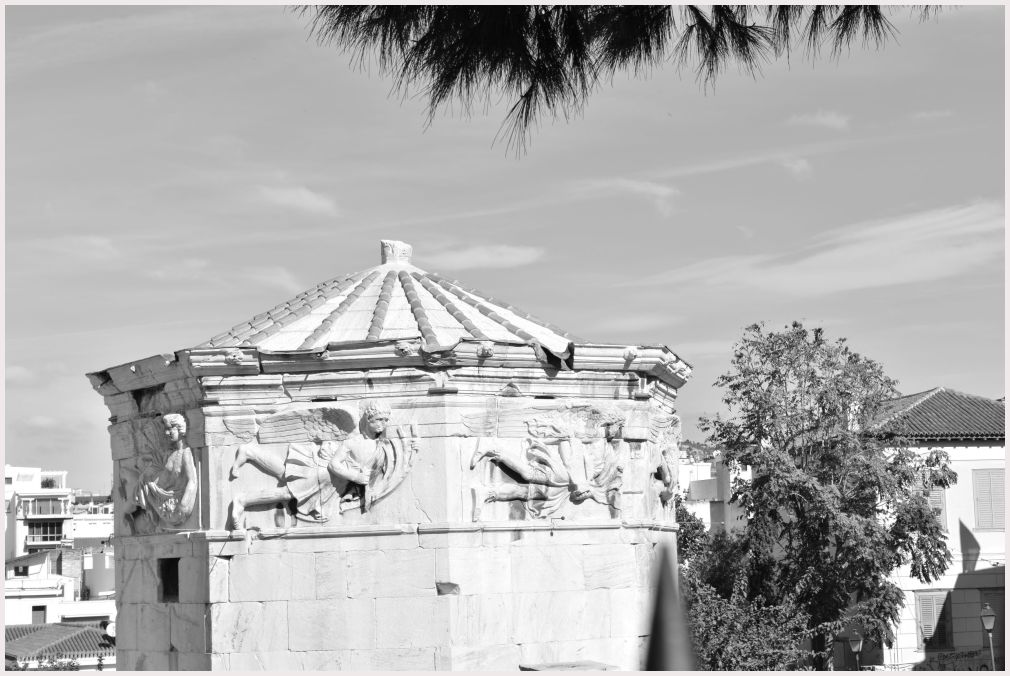 Athens in B&W: 35