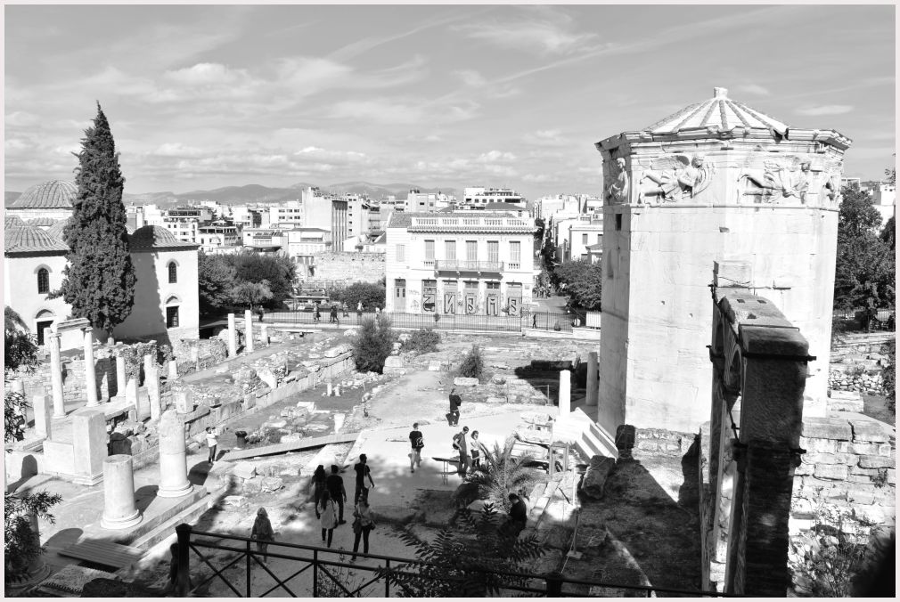 Athens in B&W: 36