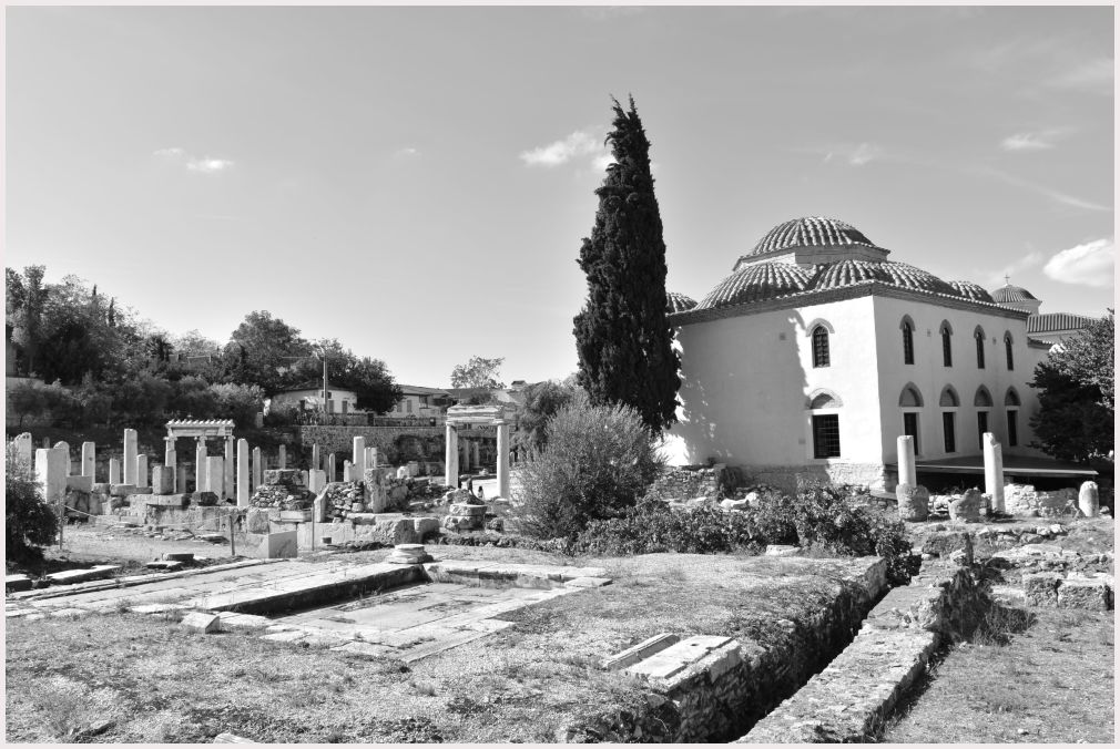 Athens in B&W: 39